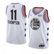 Camisetas NBA Baratas Golden State Warriors 2019 Klay Thompson 11# Blanco All Star Game Swingman..